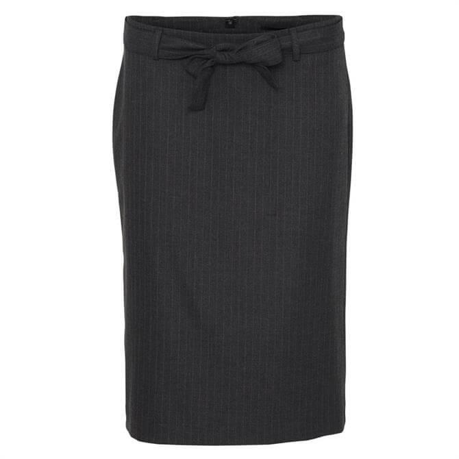 Soyaconcept Bertine Pinstripe Skirt