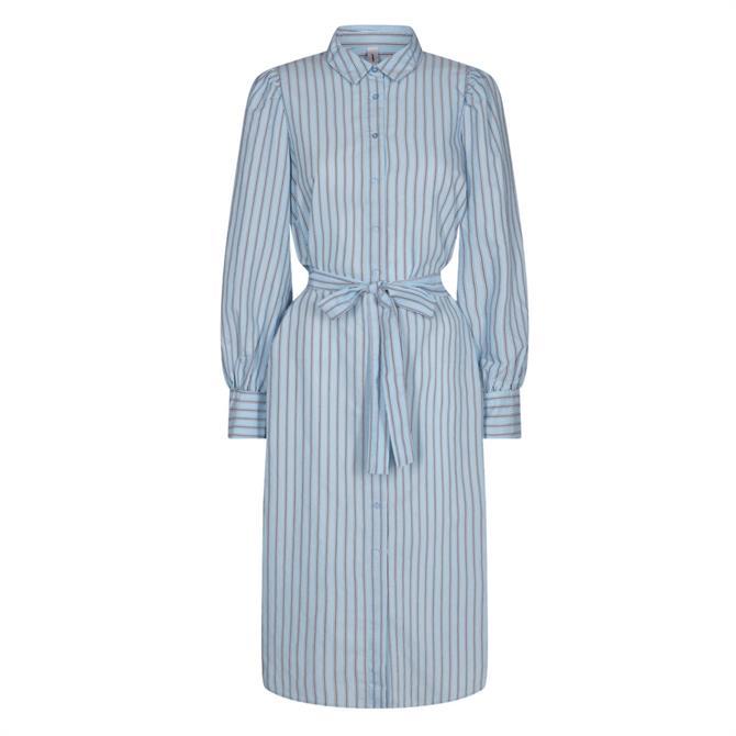 Soyaconcept Oasis Pinstriped Shirt Dress