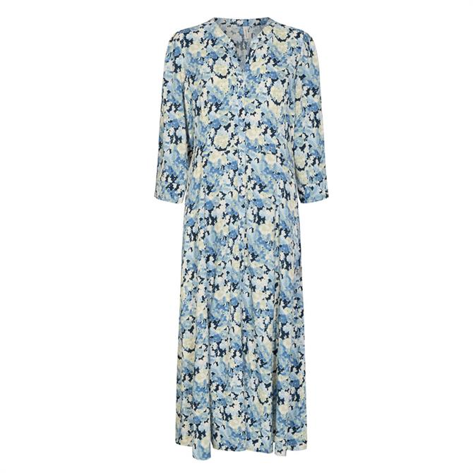 Soyaconcept Odessa Abstract Floral Print Dress