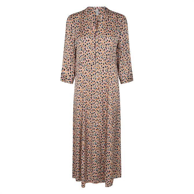 Soyaconcept Odiana Patterned Midi Dress