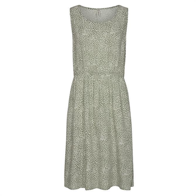 Soyaconcept Immely Fine Print Strapless Dress
