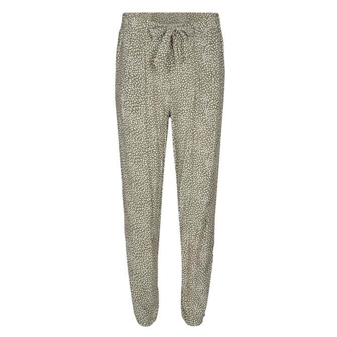 Soyaconcept Immely Fine Print Casual Trousers