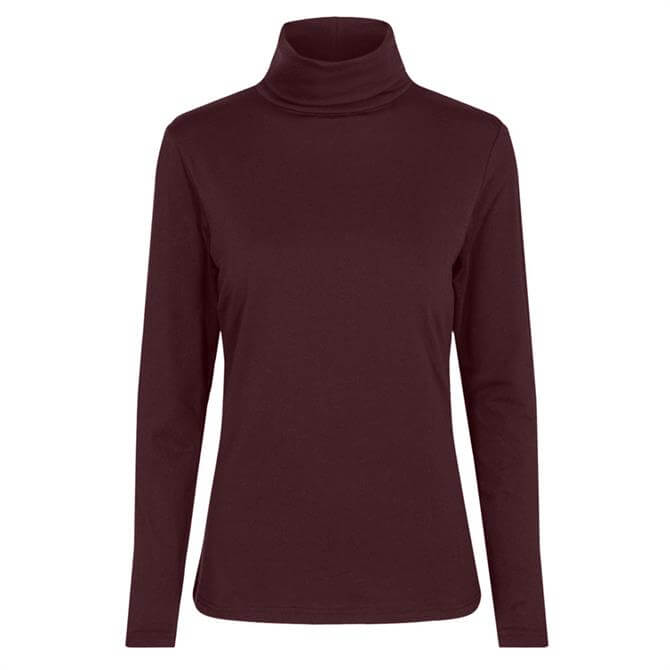 Soyaconcept Pylle Polo Neck Long Sleeved Top