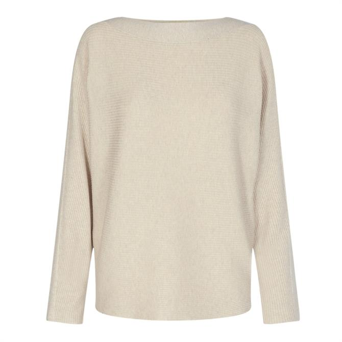 Soyaconcept Dollie Ribbed Boat Neck Sweater