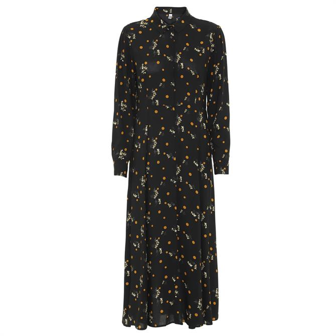 Soyaconcept Ebony Floral Print Dress