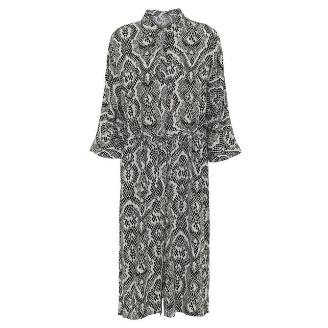 Soyaconcept Elsa Snake Print Dress