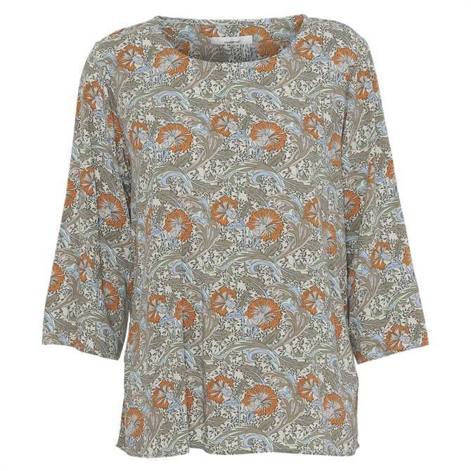 Soyaconcept Gemma Paisley Floral Print Blouse