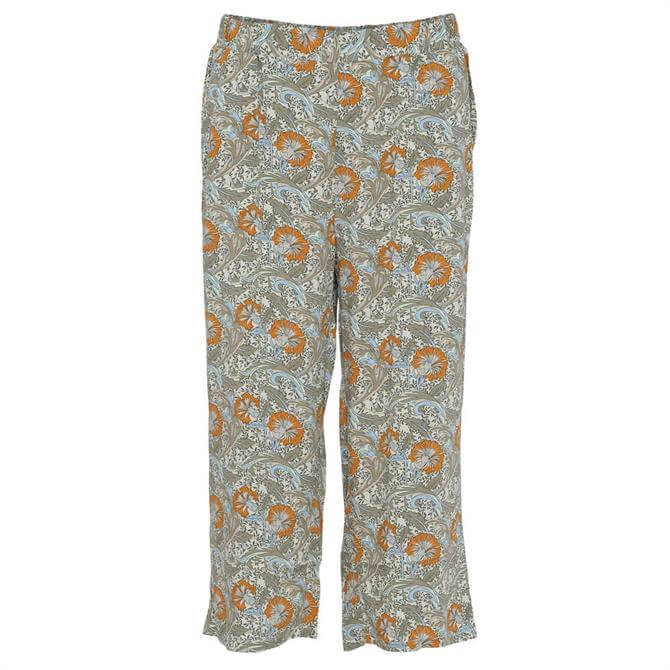 Soyaconcept Gemma Paisley Floral Print Trousers