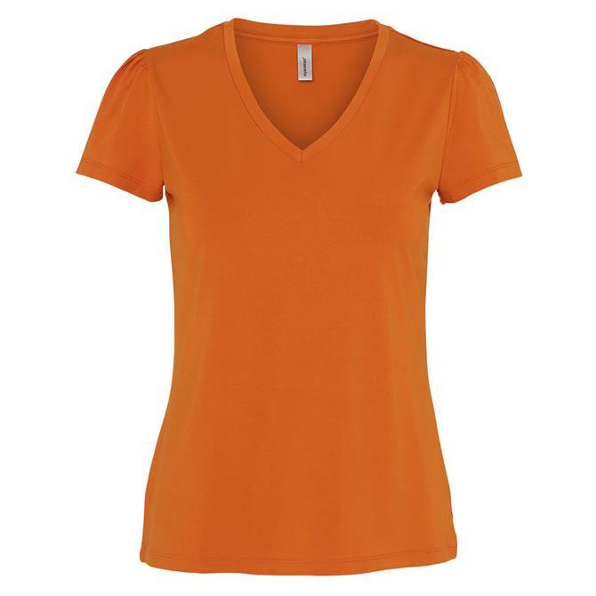 Soyaconcept Marica Soft V Neck T-Shirt