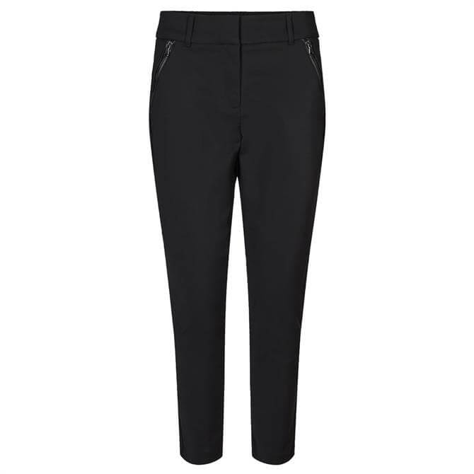 Soyaconcept Nigeria Zip Detail Slim Fit Trousers