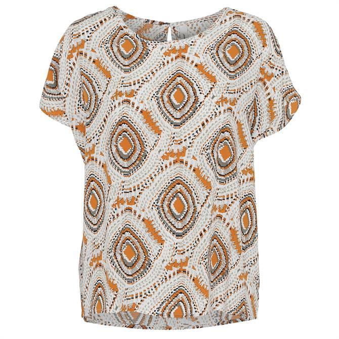 Soyaconcept Sammy Patterned Short Sleeve Blouse