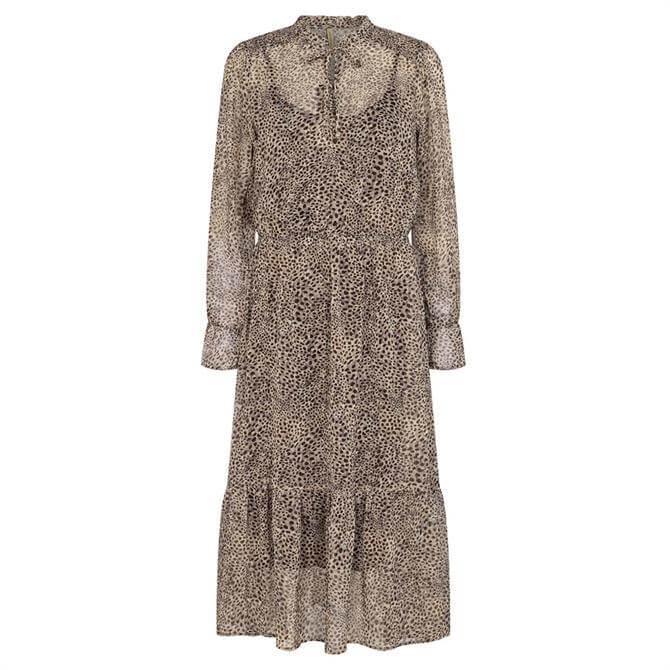 Soyaconcept Titika Animal Print Dress