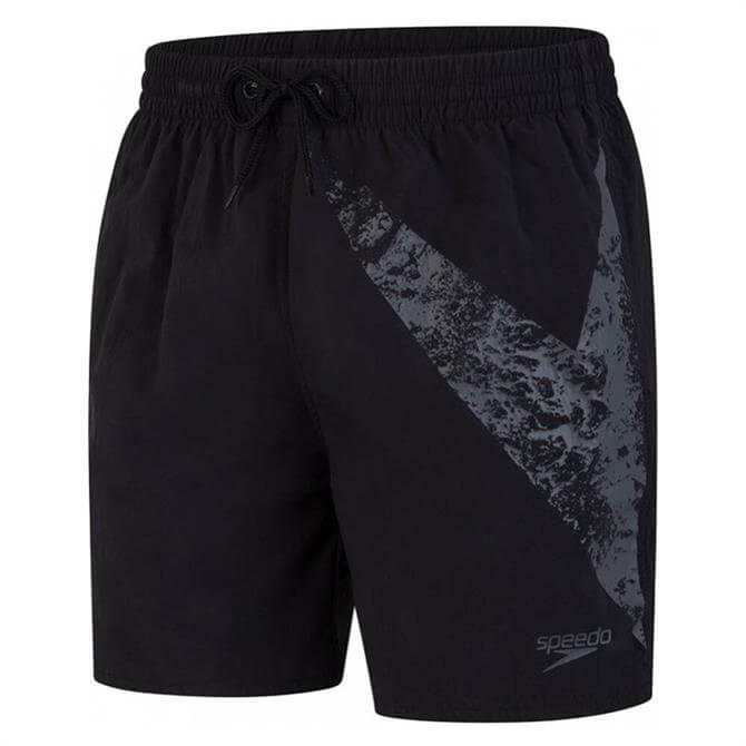 Speedo Men's Boomstar Swim Shorts - Black
