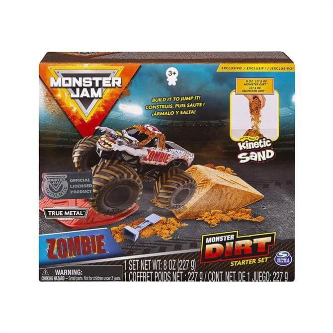 Spin Monster Jam Kinetic Dirt Starter Set