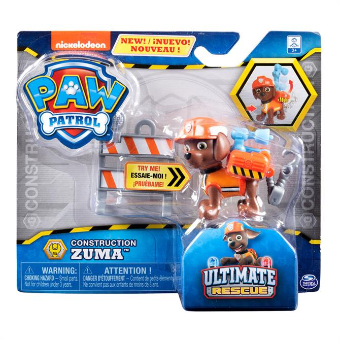 Paw Patrol Ultimate Rescue Construction Pups Assortment