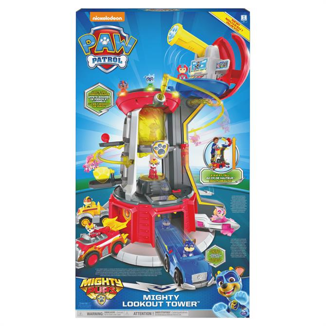 Paw Patrol Mighty Lookout Tower Playset