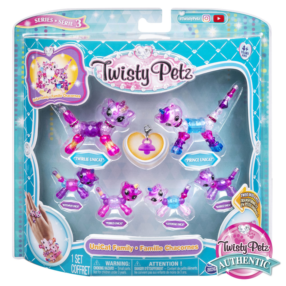 An image of Twisty Petz Family 6 Pack Assortment