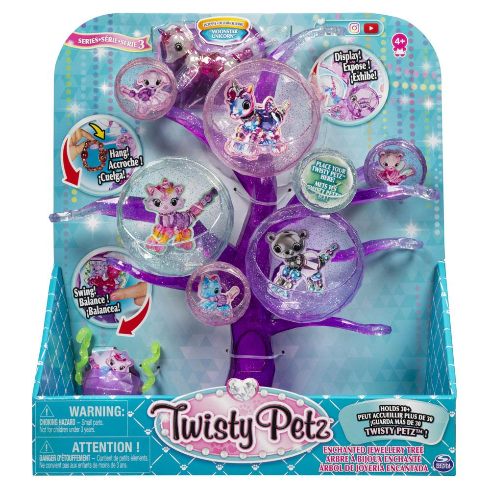 An image of Twisty Petz Enchanted Jewellery Tree