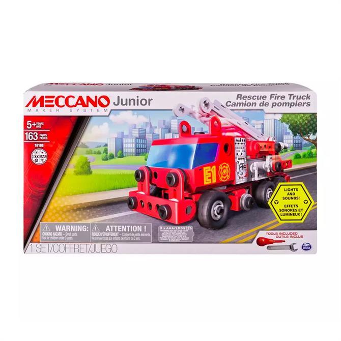 Meccano Junior Fire Engine Vehicle