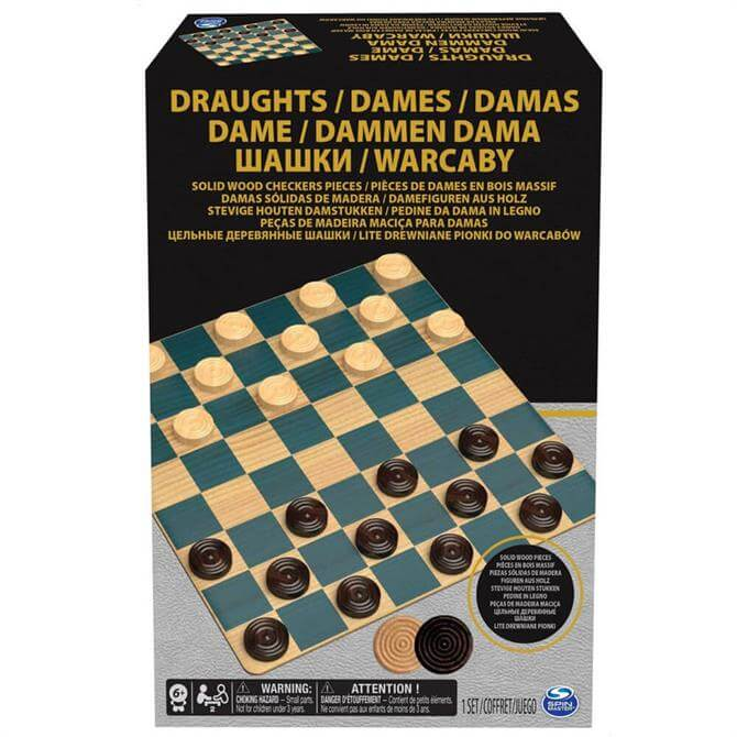 Spin Master Classic Draughts / Checkers