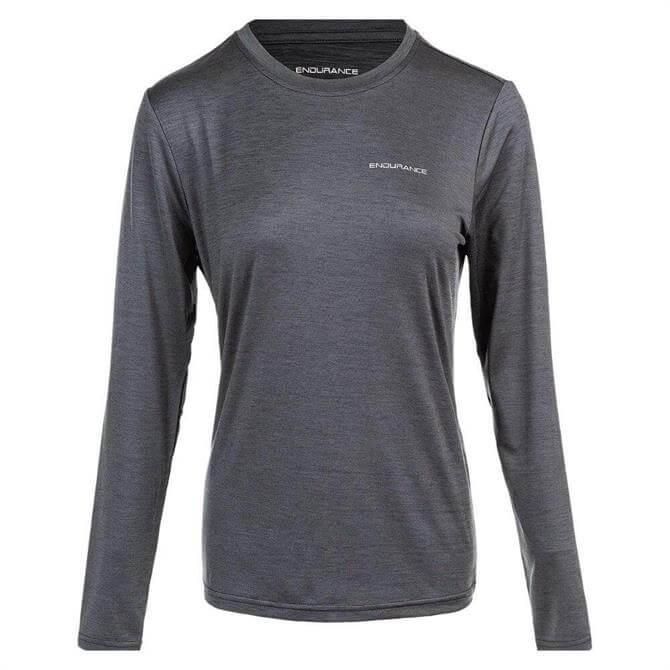 Endurance Women's Maje Melonge Long Sleeve Top