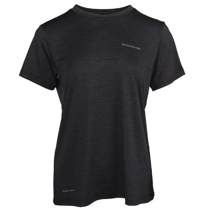 Maje Women's Melange Short Sleeve T-Shirt