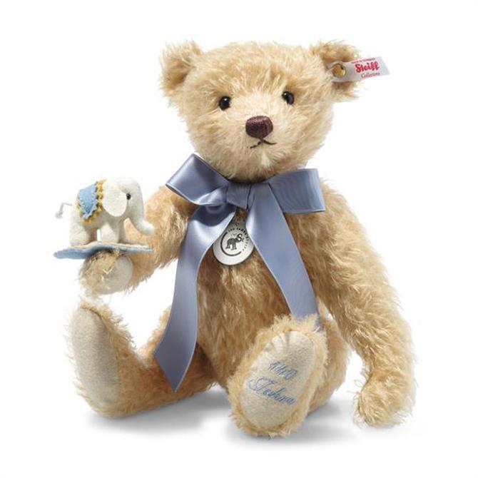 Steiff Teddy Bear with Little Felt Elephant