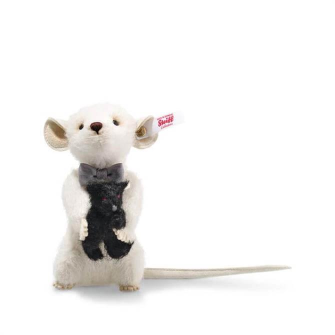 Steiff Peky Mouse with Teddy Bear