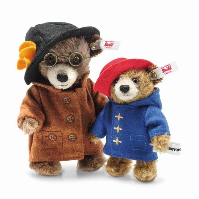 Steiff Aunt Lucy and Paddington Bear Set