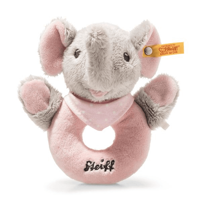 Steiff Trampili Elephant Grip Toy with Rattle