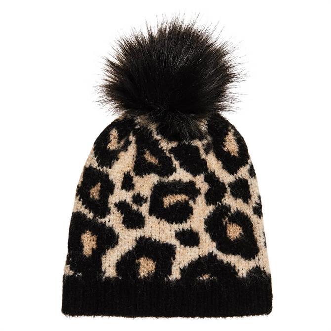 Superdry Lisa Leopard Beanie