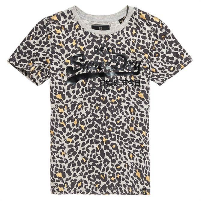 Superdry Vintage Logo Animal All Over Print T-Shirt