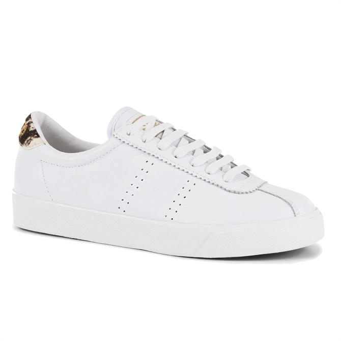 Superga 2843 Superga Sport Club S White Birch Trainer