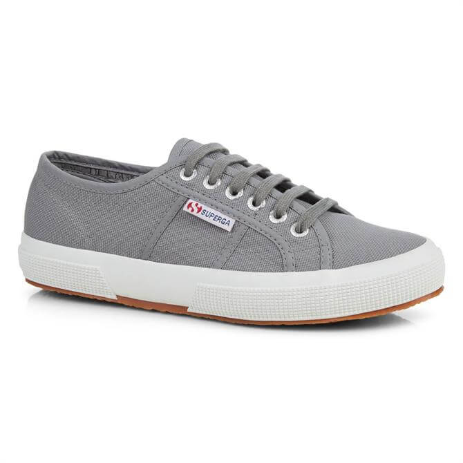 Superga 2750 Cotu Classic Grey Canvas Trainers
