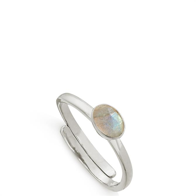 SVP Atomic Micro Sterling Silver Adjustable Ring