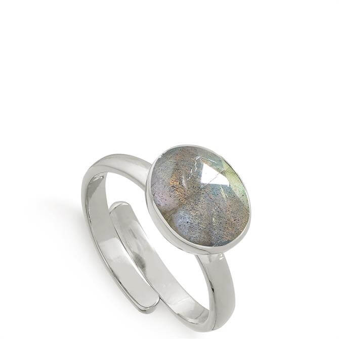 SVP Atomic Midi Sterling Silver Adjustable Ring