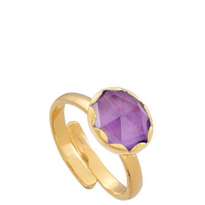 SVP Jarrold 250th Anniversary Limited Edition Gold Vermeil Adjustable Ring