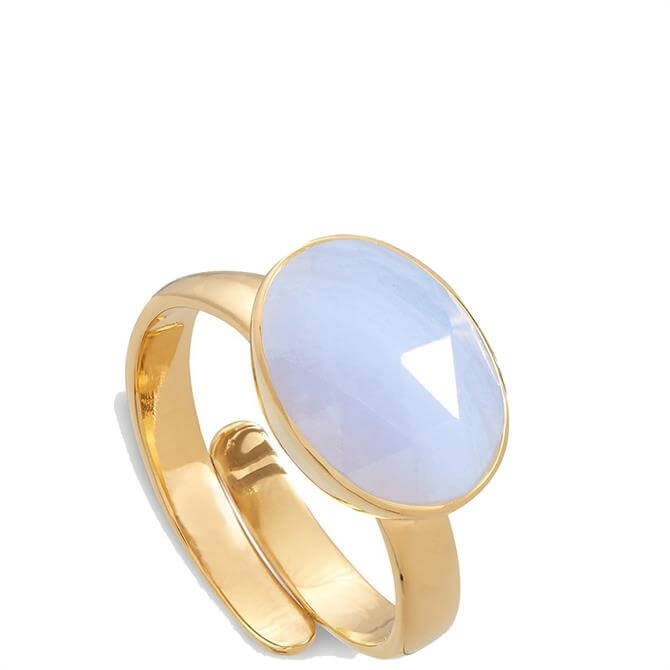 SVP Atomic Maxi 18 Carat Gold Vermeil Adjustable Ring