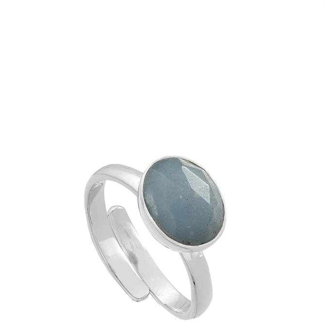 SVP Atomic Midi Sterling Silver Adjustable Ring