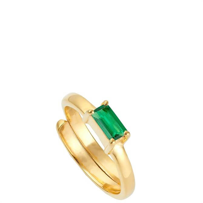 SVP Small Nivarna Gold Vermeil Adjustable Ring