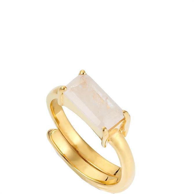 SVP Large Nivarna Gold Vermeil Adjustable Ring