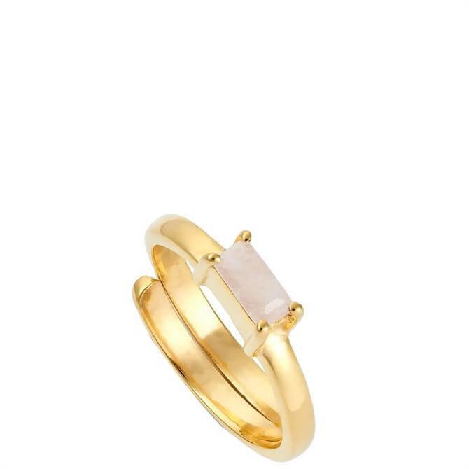 SVP Small Nivarna Gold Vermeil Adjustable Ring