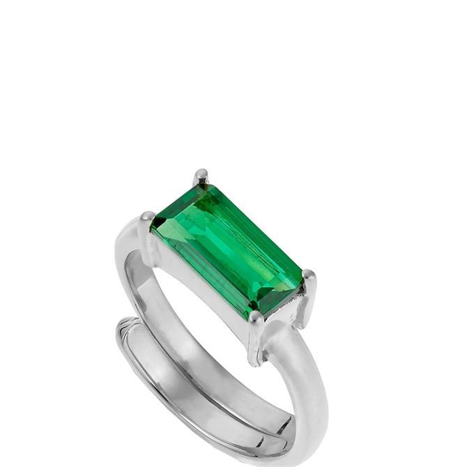 SVP Large Nivarna Sterling Silver Adjustable Ring