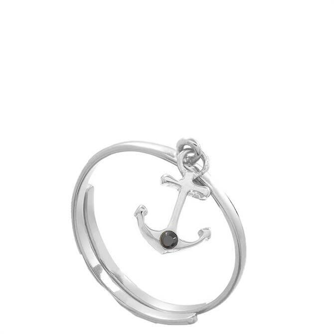 SVP Supersonic Medium Anchor Sterling Silver Adjustable Ring