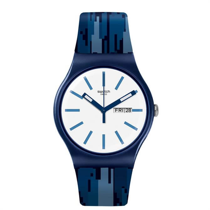 Swatch Fiammablu Watch