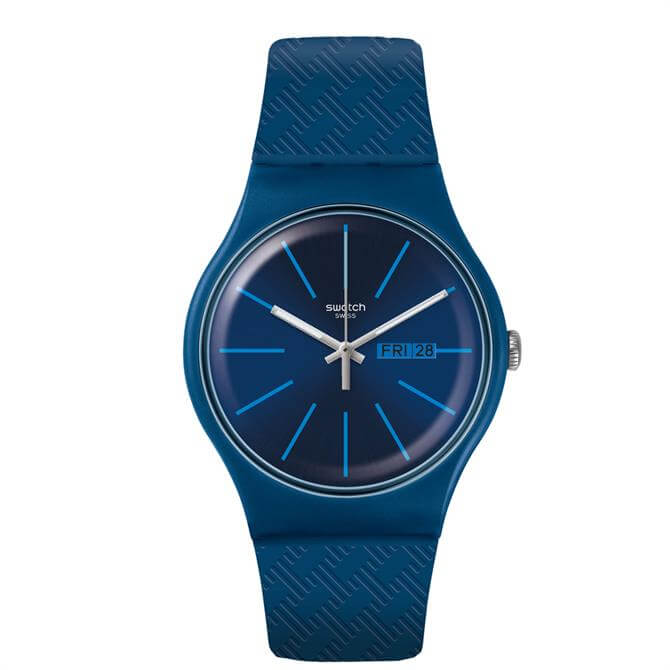 Swatch Wave Path Watch