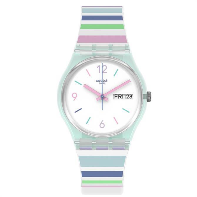 Swatch Pastel Zebra Watch