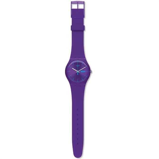 Swatch Purple Rebel Watch