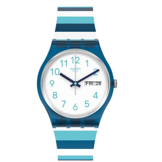 Swatch Striped Waves Watch