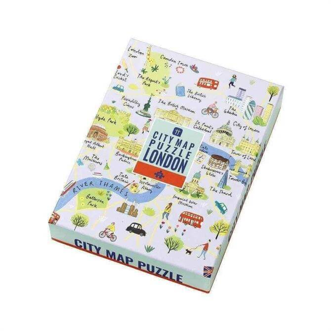 Talking Tables London Map Puzzle 250 Pieces